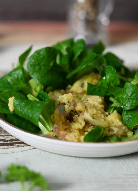 Feldsalat Kartoffel-Dressing