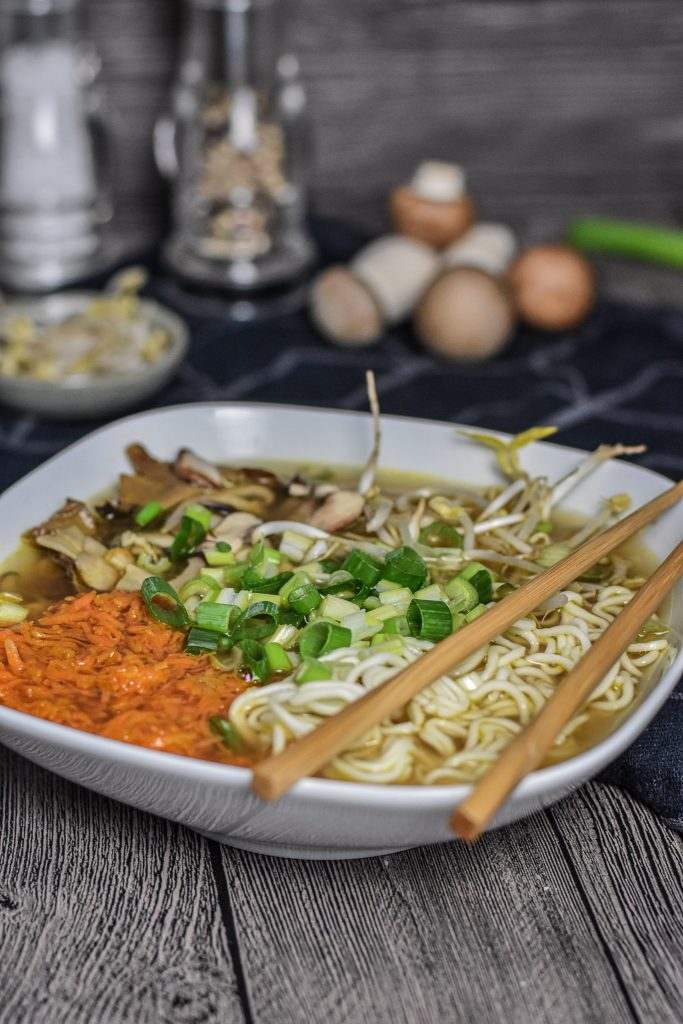 Ramen-Suppe japanisch