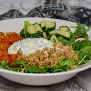 Salatbowl Quinoa