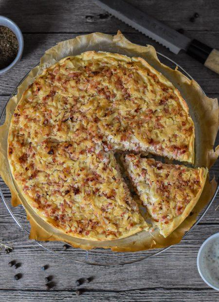 Sauerkrautkuchen Sauerkraut Kuchen