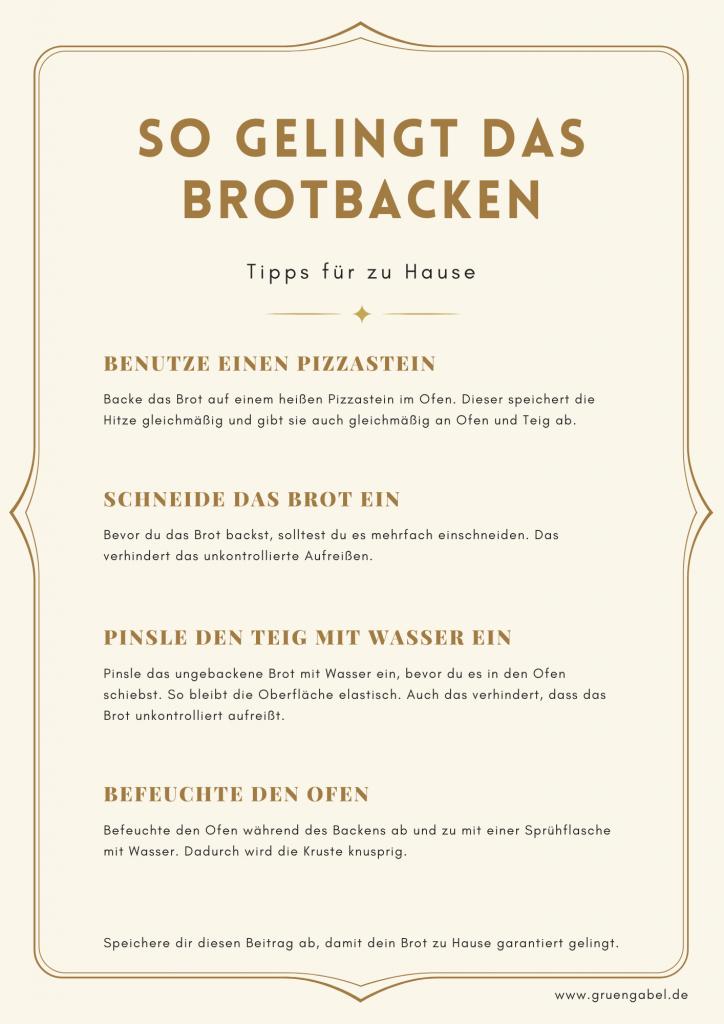 Brotbacken Tipps Backes