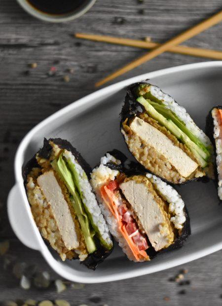 Sushi Sandwiches Tofu