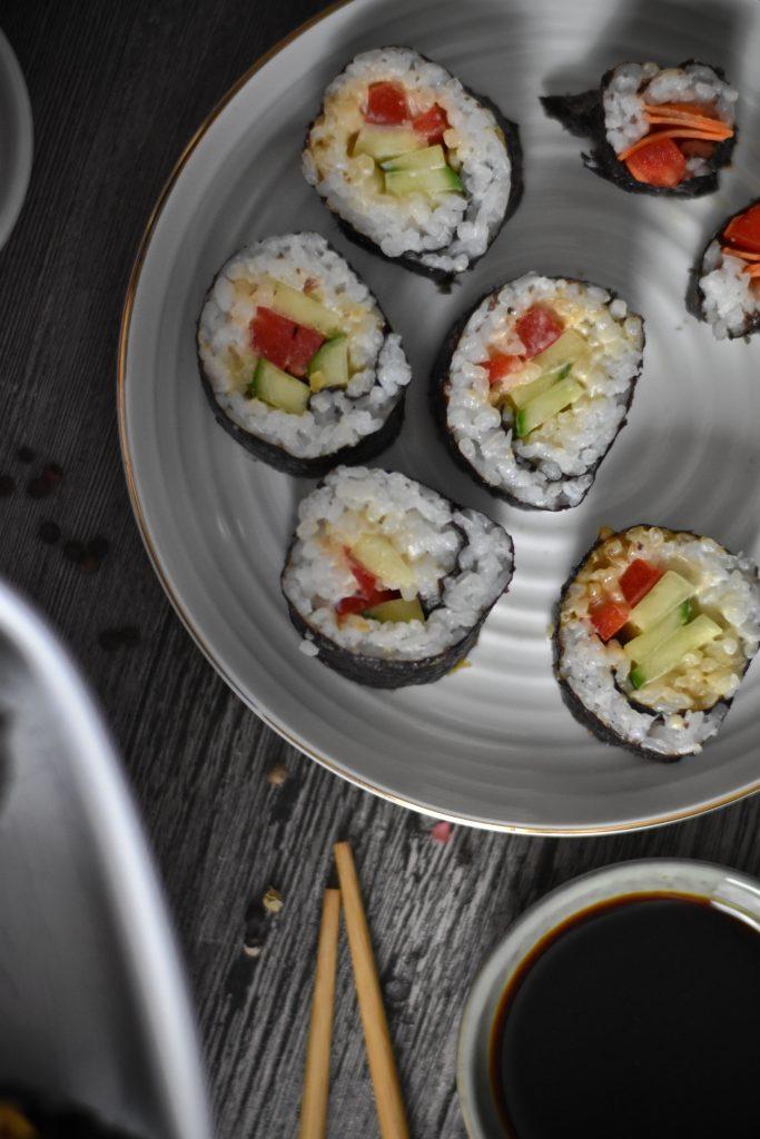 Sushi Maki Rollen